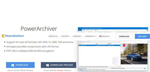 PowerArchiver – Compress, Encrypt, Exchange and Backup your data