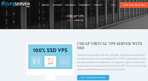 VPSServer cheap vps hosting