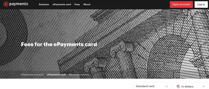 epayment mastercard account
