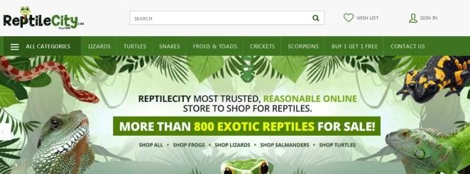 Reptilecity for Amphibians Lizards Turtles Tortoises Snakes