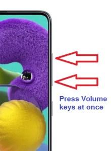 Samsung talkback turn off using button