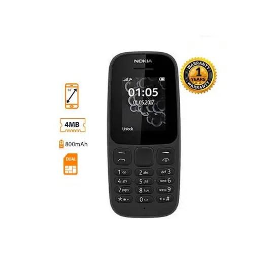 Nokia 105 DS 1.8'' Dual Sim, FM Radio, Torch light, 800MAH