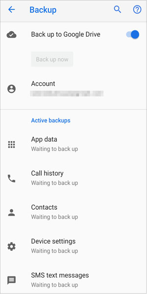 Back Up Old Phone Data