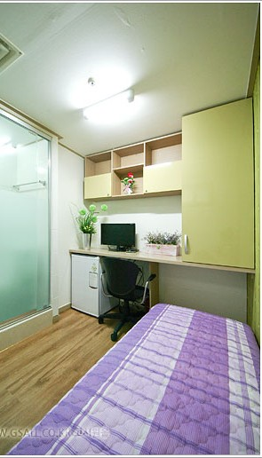 Goshiwon room 2 - Blog Corée du Sud - the korean dream