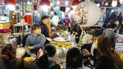 gwangjang street food