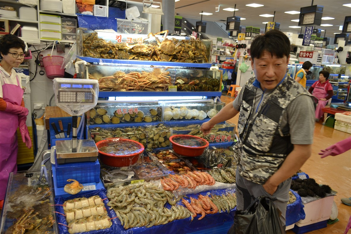 Noryangjin marché de poisson - blog corée du sud - The korean dream