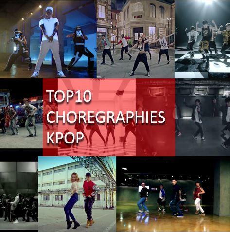 TOP10 des meilleurs chorégraphies de Kpop