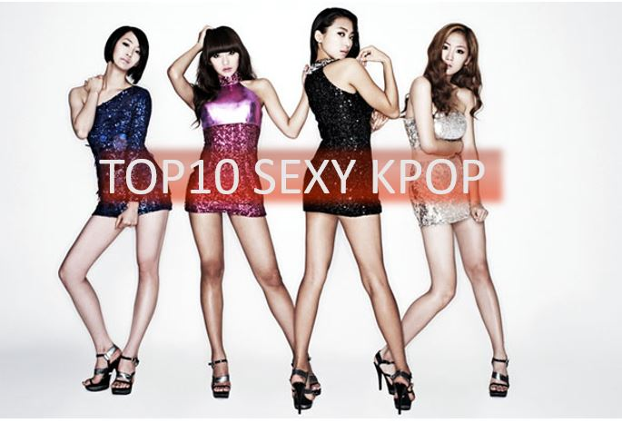 TOP10 des chorés les plus sexy de Kpop...