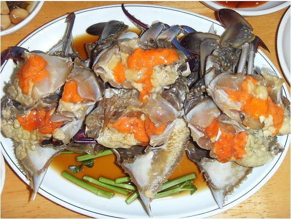 Crabe bleu - restaurants coreens - blog coree du sud - the korean dream