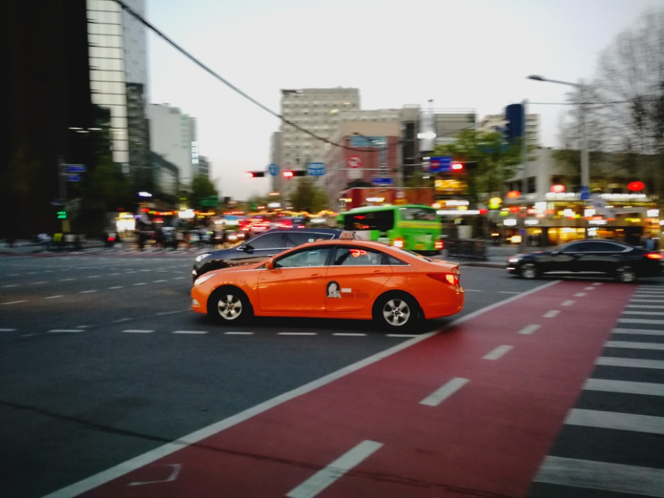 taxi en coree - blog coree du sud - the Korean dream 1