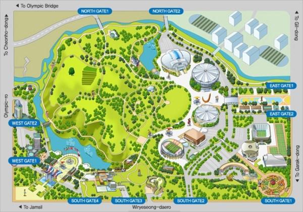 Olympic park Seoul top10 Parcs - blog coree du sud - the korean dream