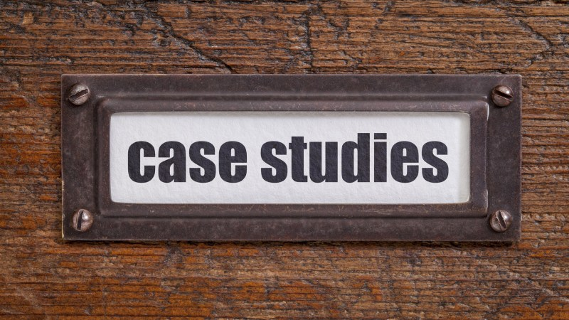 Navigating the Case Study Conundrum. Why you shouldn't select an agency based on case studies.