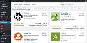 Choosing the best plugins to make yourwebsite more functional