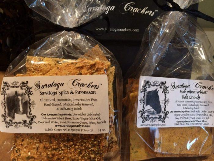Spice & Parmesan Crackers