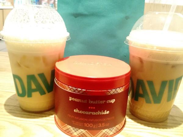 Peanut Butter Cup Tea DAVIDsTEA - NYC