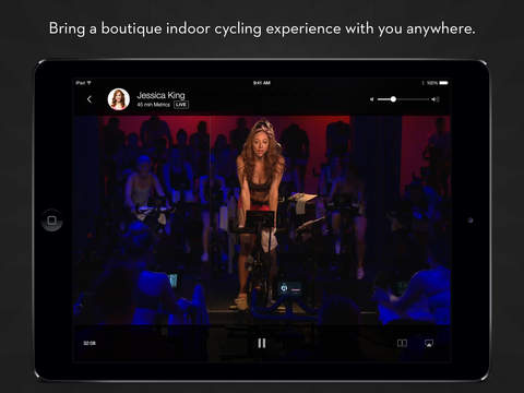 Peloton Cycle iPad App