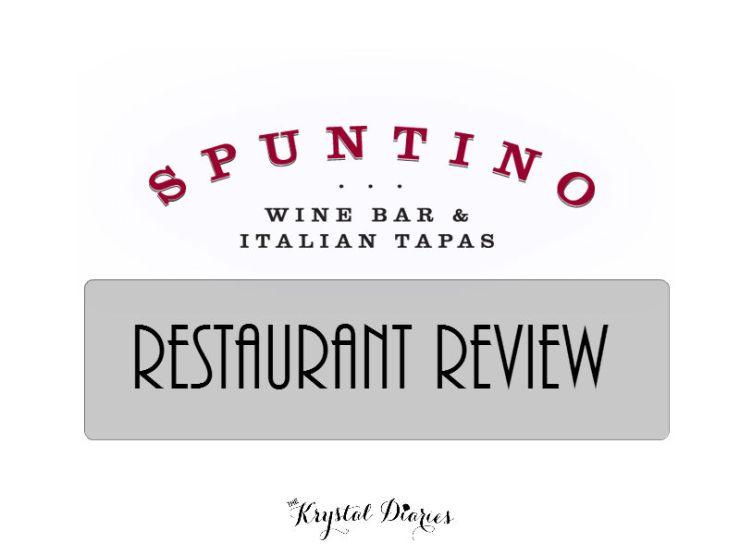 Spuntino Wine Bar Italian Tapas - Garden City NY Restaurant Review