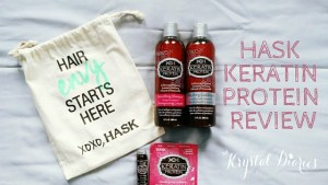 HASK Keratin Protein Smoothing Hair Care Collection