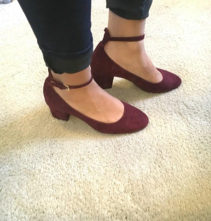 Vassie Ankle Strap Pum - Vassie // Stitch Fix Review October 2016 // The Krystal Diaries