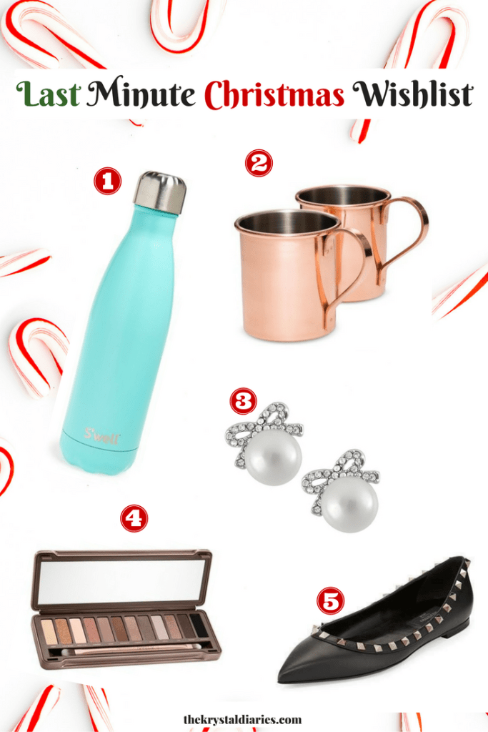 Last Minute Christmas Wishlist // The Krystal Diaries