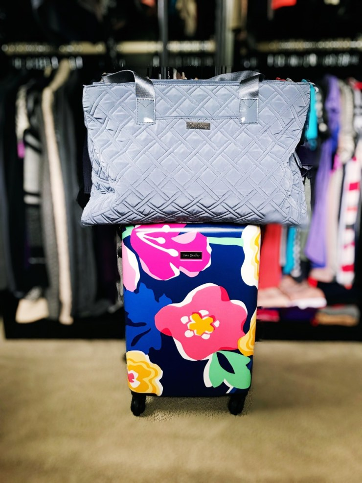 How To Pack In A Carry On Bag ft. Vera Bradley // The Krystal Diaries