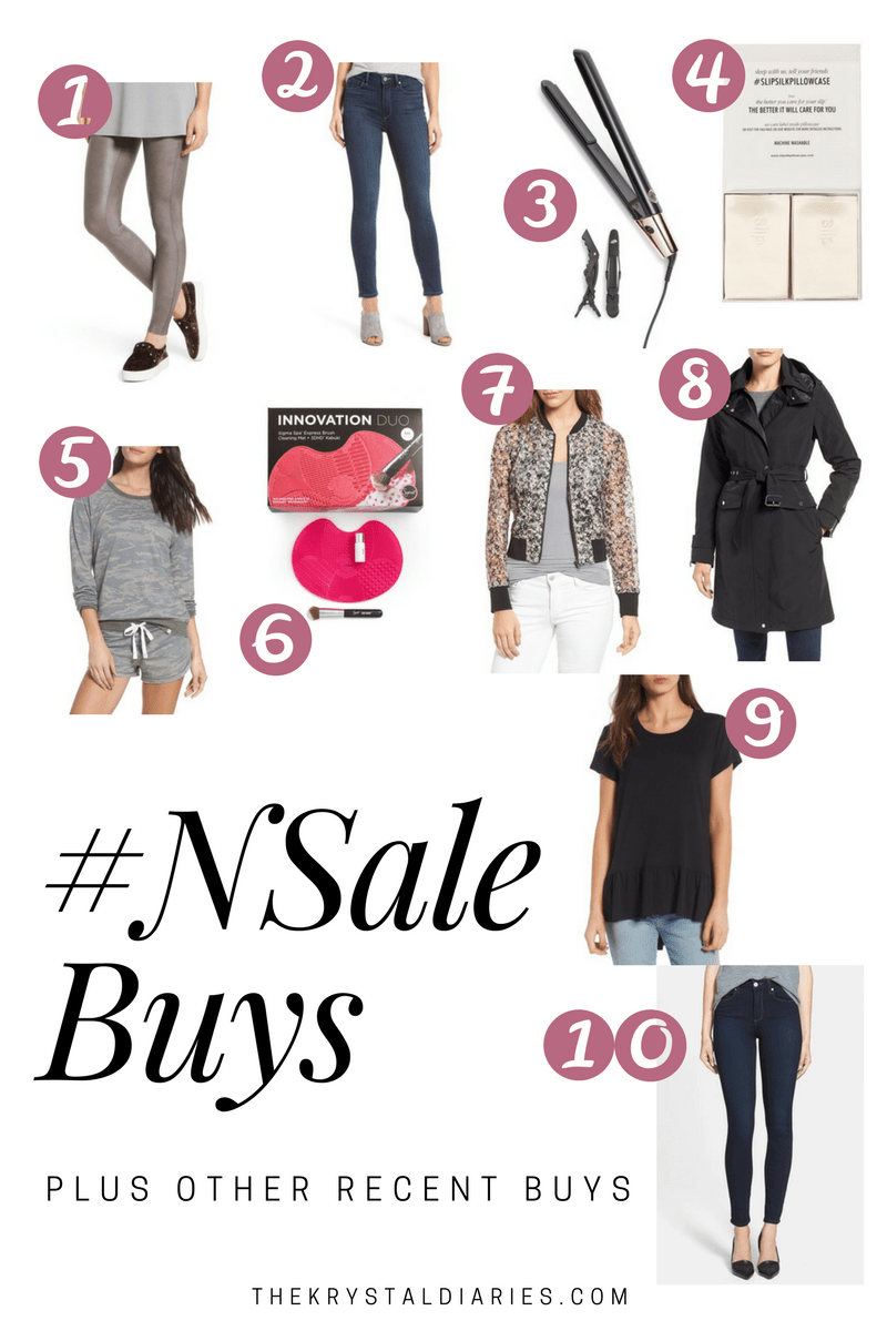 Recent Nordstrom Buys Plus #NSale Pieces
