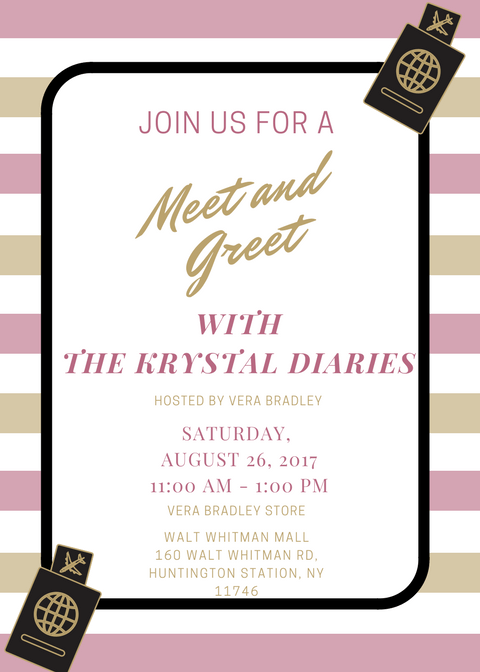 The Krystal Diaries Meet & Greet with Vera Bradley