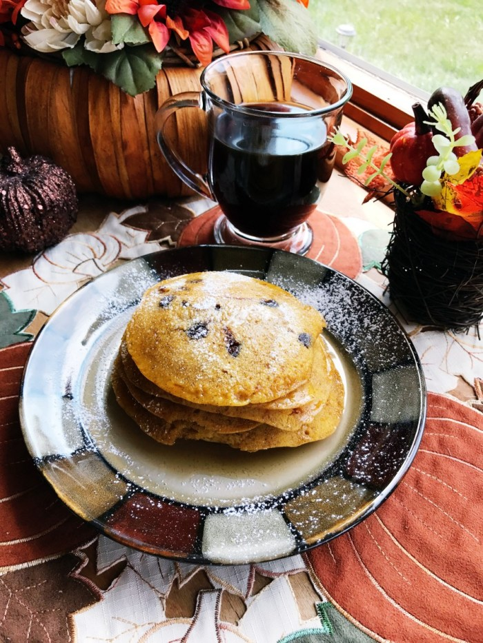 The Perfect Fall Morning - Pumpkin Spice Pancake Recipe // The Krystal Diaries