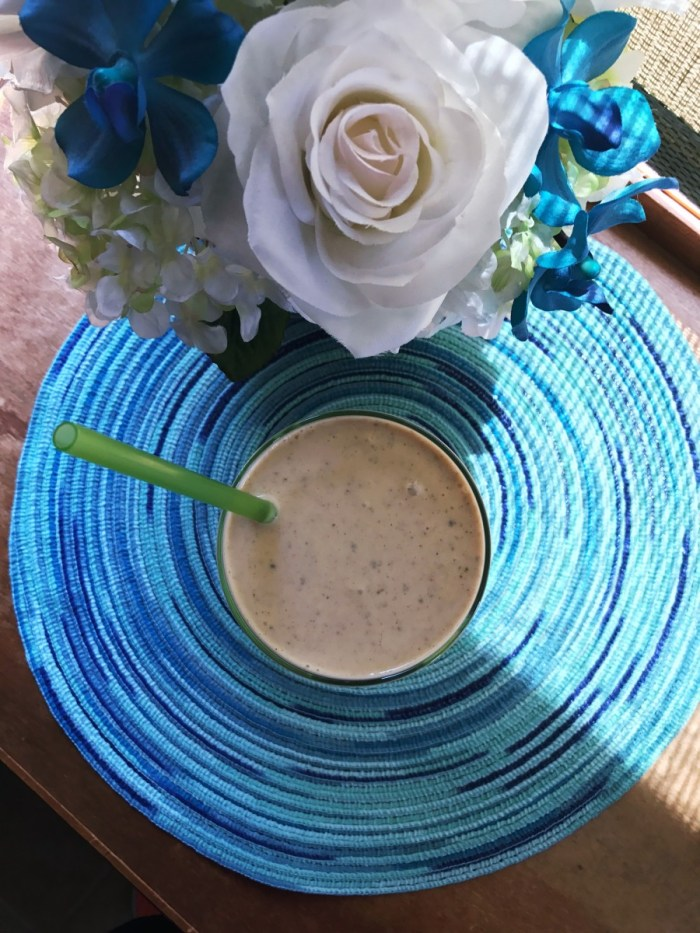 Collagen Peanut Butter Banana Smoothie // The Krystal Diaries