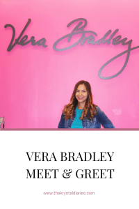 Vera Bradley Meet and Greet Recap // The Krystal Diares