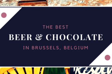 The Best Beer & Chocolate Tour with The Brussels Journey // The Krystal Diaries