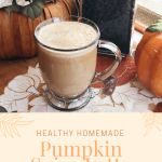 Healthy Homemade Pumpkin Spice Latte // The Krystal Diaries
