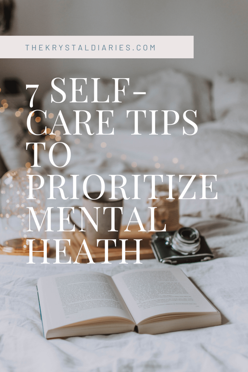 Prioritize your mental health with these 7 self-care ideas.