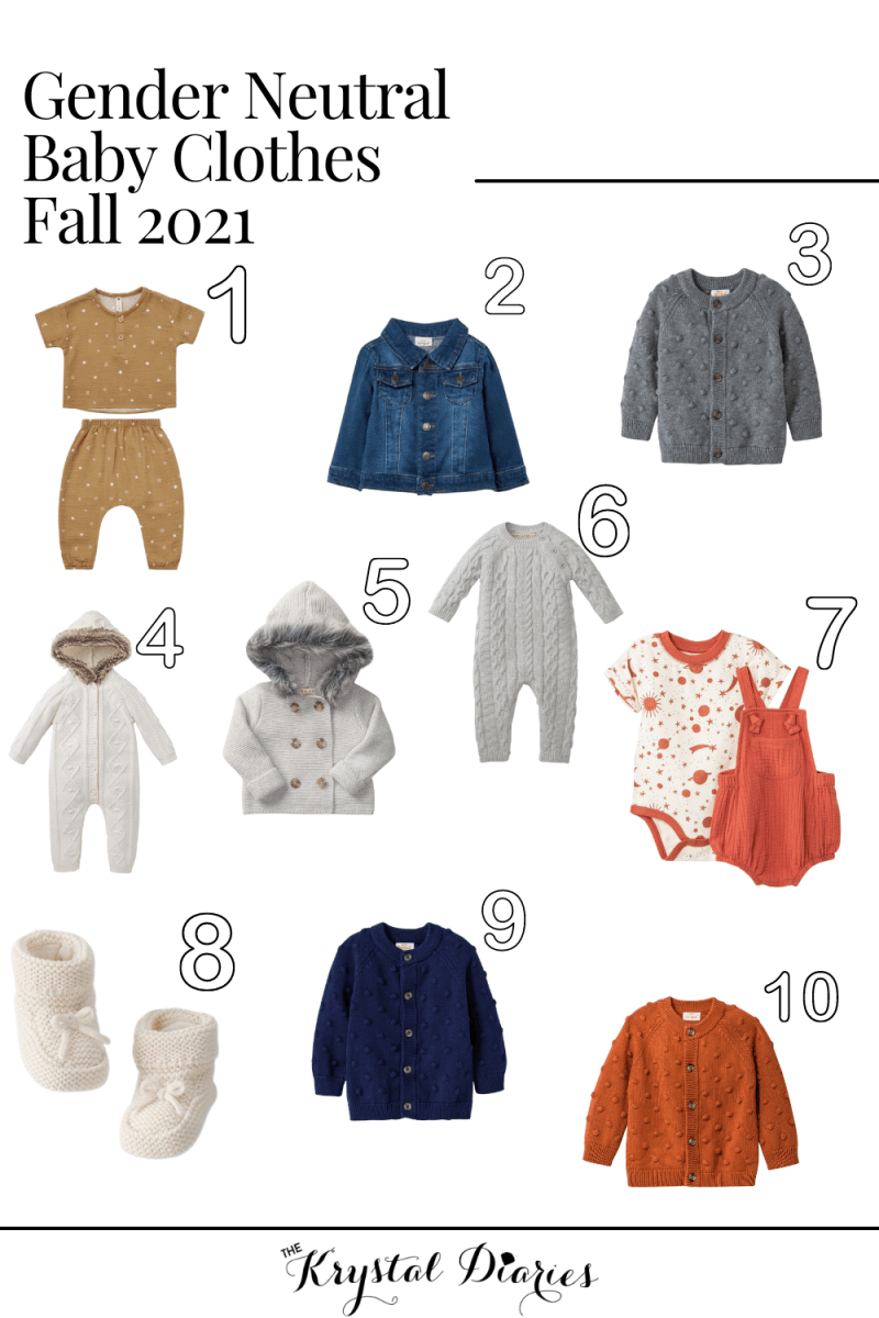 Not finding out baby's gender? Looking for cute gender neutral baby clothes for this fall? I've rounded up the cutest outfits I've purchased!