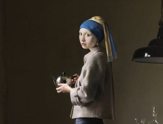 Girl with the Pearl Earring by Dorothee Golz
