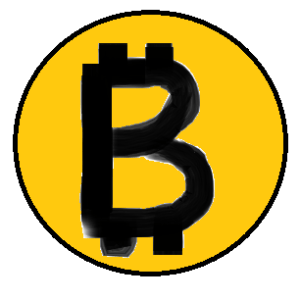 My Bitcoin drawing, my artist reclined again due to family reason. So I had to make my own pictures.