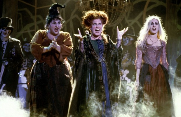 A still from the set of Hocus Pocus (via Walt Disney Pictures)