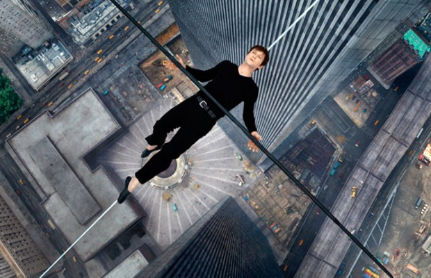Joseph Gordon-Levitt as Philippe Petit in The Walk (via TriStar Pictures)
