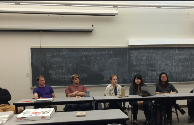 Business and Economics Club holds its first meeting (Tim DeCoursey / The Index)