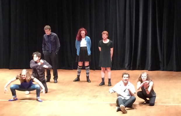 Upright Citizen's Brigade Touring Company performed at Kalamazoo College (Tim DeCoursey / The Index)