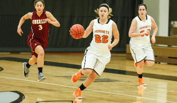 Point guard Kelsey Adamski is one of the key returners this season for the Hornets (via Kalamazoo Athletic Department)