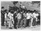 BSO Student Protesters (Courtesy of the Kalamazoo College Archives)
