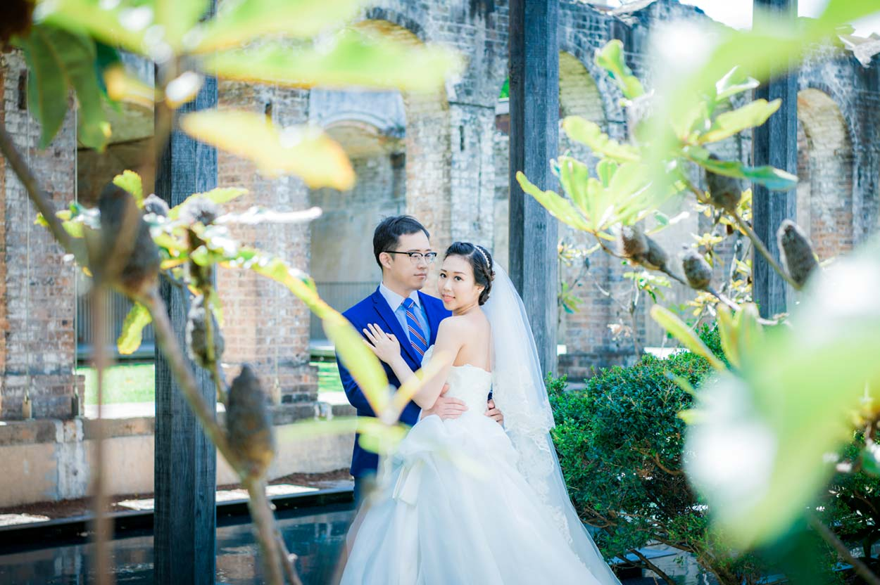 paddington reservoir pre-wedding photo