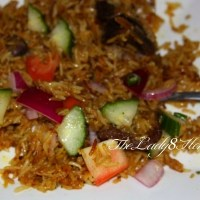Quick Pressure Cooker Biriyani (Mutton/Lamb/Chicken)