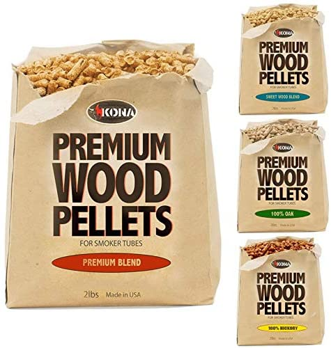 Kona Best Wood Smoking Pellets