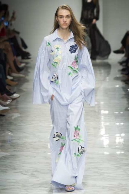 blumarine ss 2016, uscire in pigiama, theladycracy.it, fashion blog italia