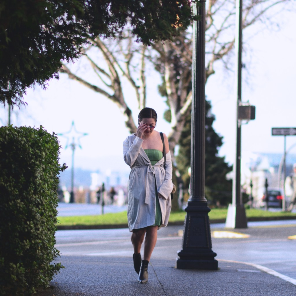 Melina Morry in Victoria, BC. Photo by Morgan Cross Photography. FINDING FASHION | Keeping your favourite fashion fun and affordable | The Lady-like Leopard