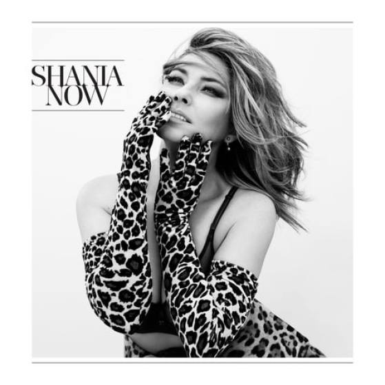 Shania Twain in leopard print on her new album cover for Shania Now | The Updated Canadian Tuxedo: Canadian Celebs in Leopard Print | The Lady-like Leopard