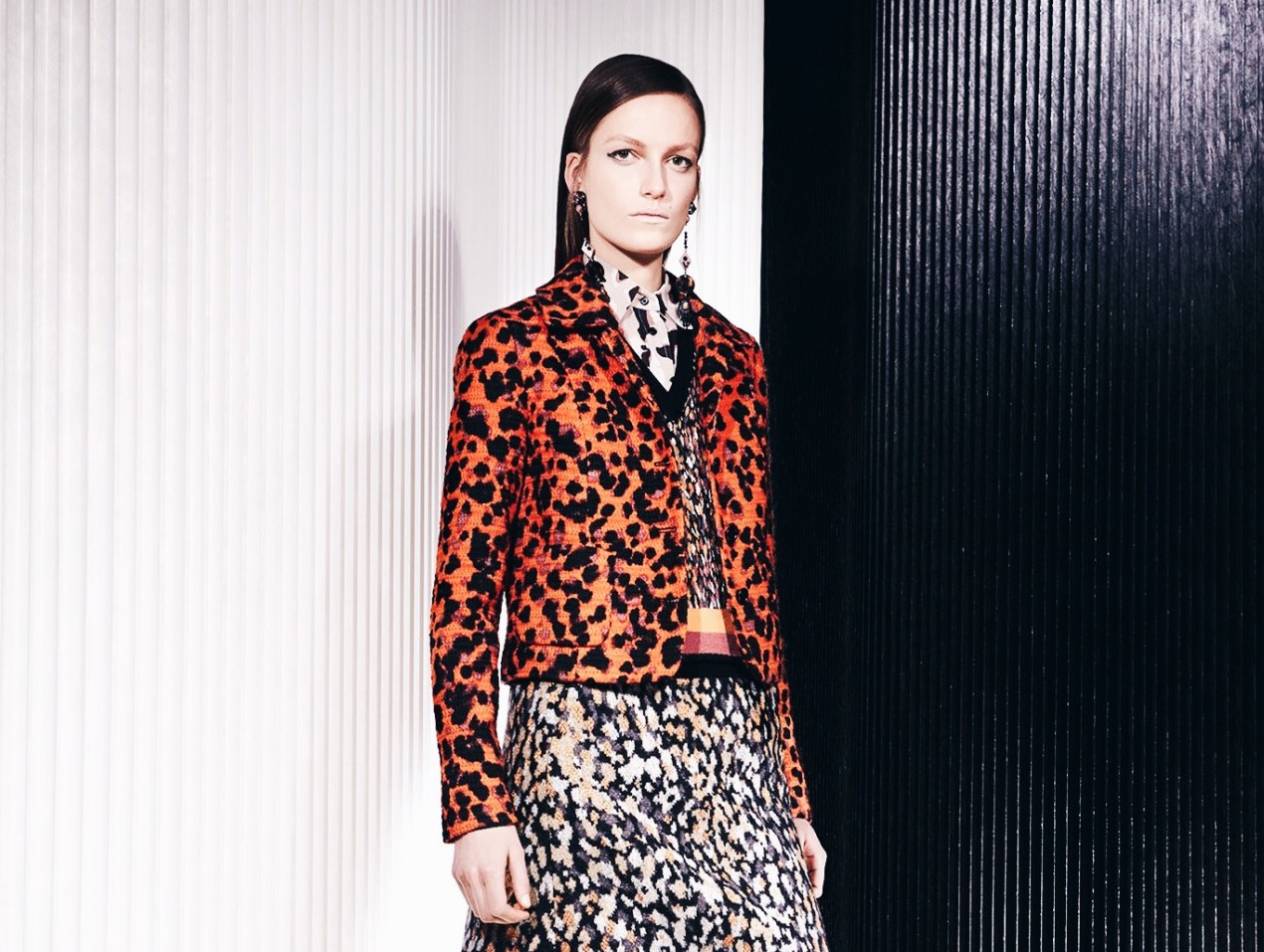 a09a0f2b3850 Missoni Fall 2018 — Vogue | Animal Prints at Work | The Lady-like Leopard