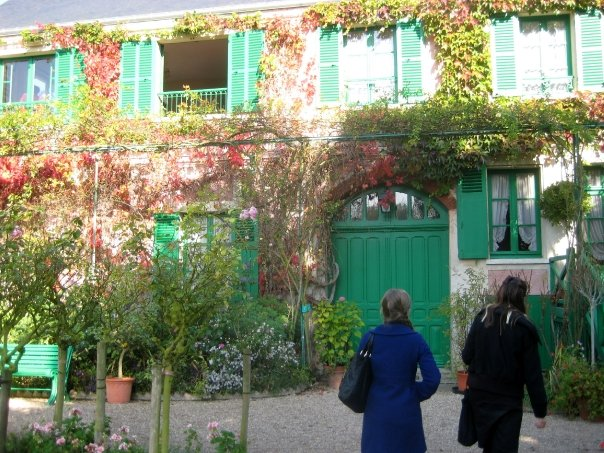 19 year old me visiting Giverny - one of the most beautiful places I've ever been.